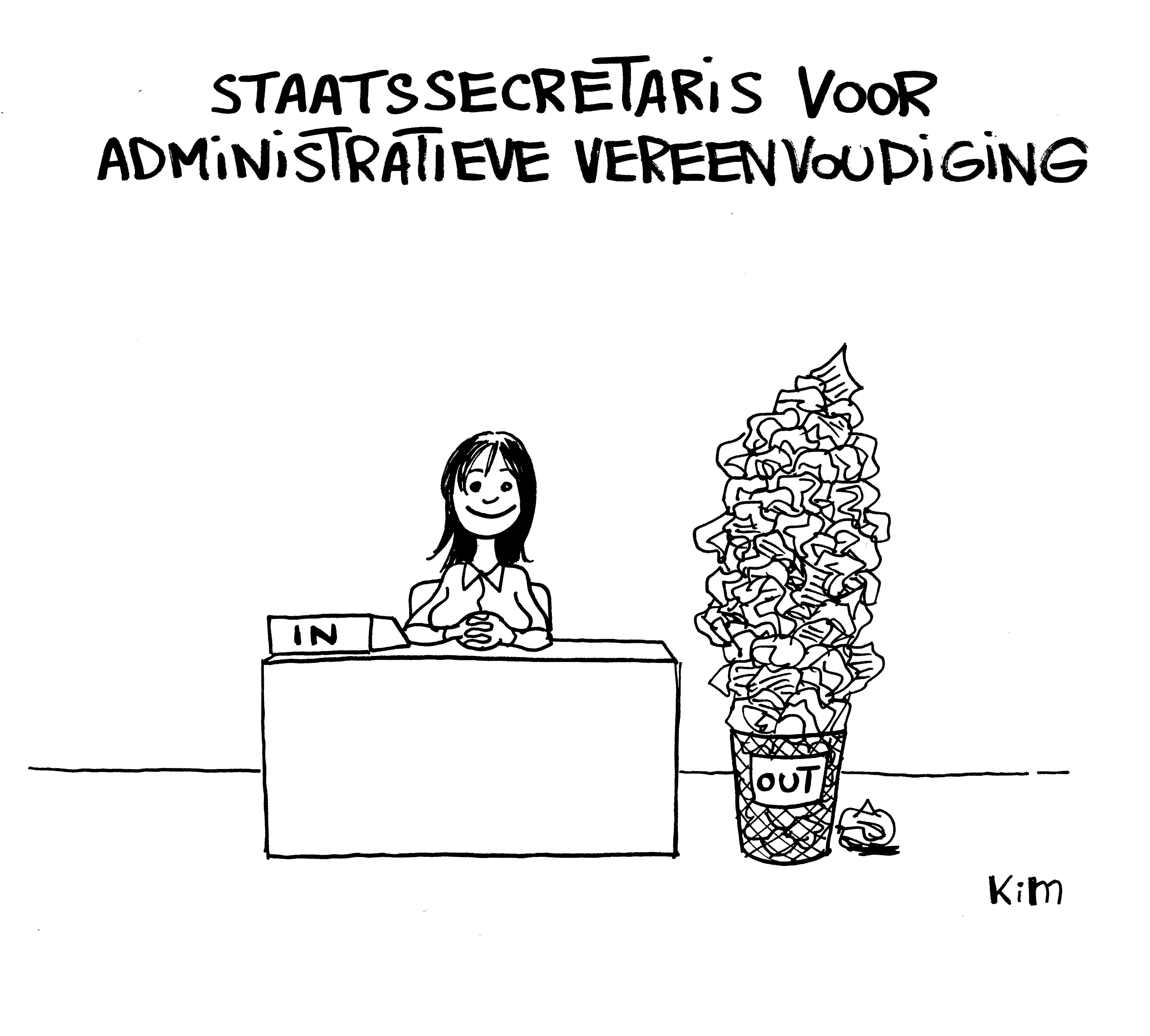 Staats secretaris voor administratieve vereenvoudiging